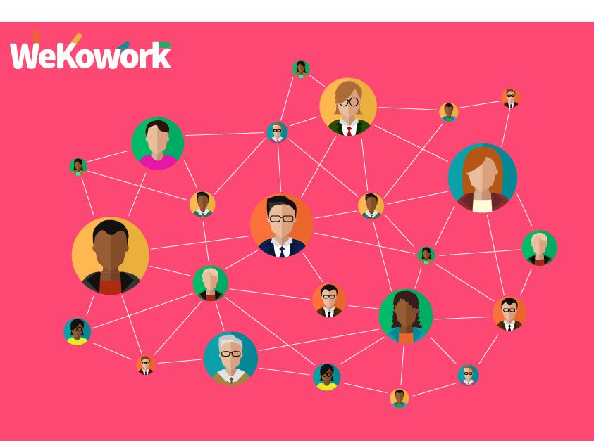 Collaborative work software