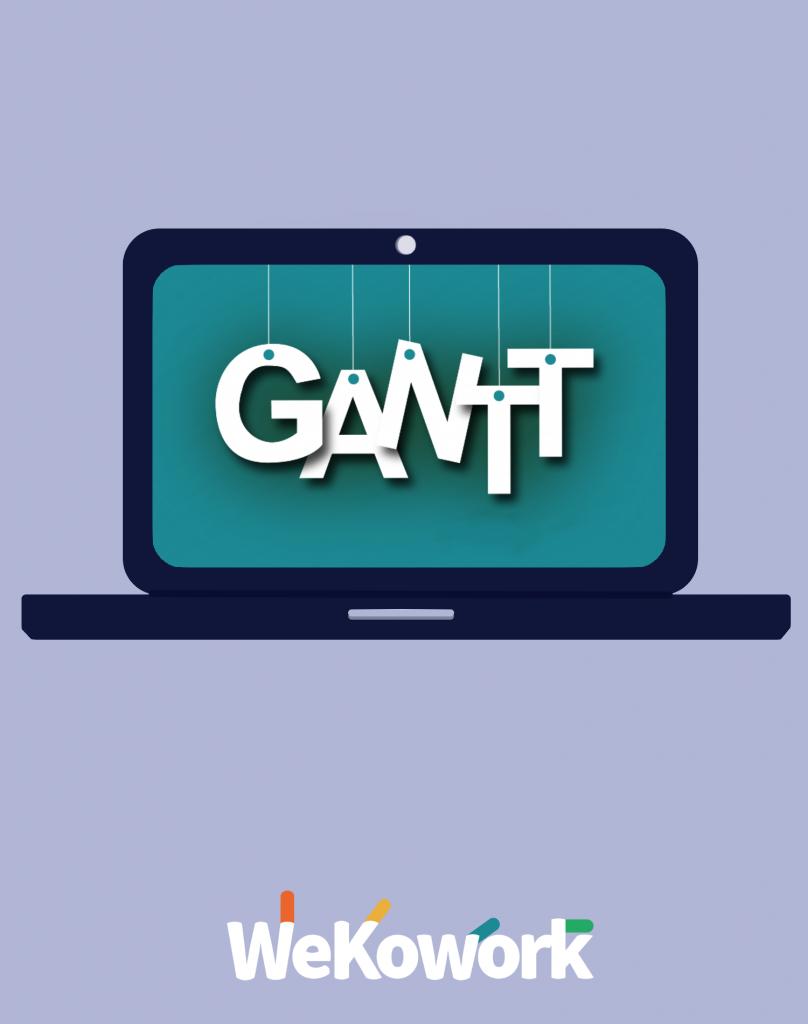 diagrama de Gantt compartido